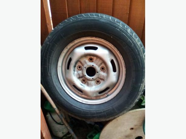 Ford transit spare tyre