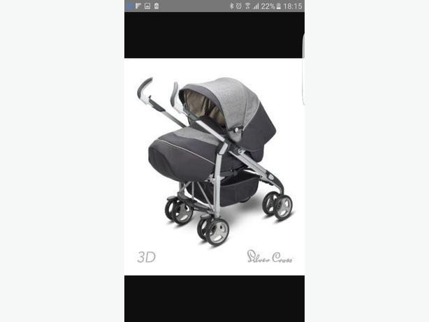 silvercross 3d pram/pushchair