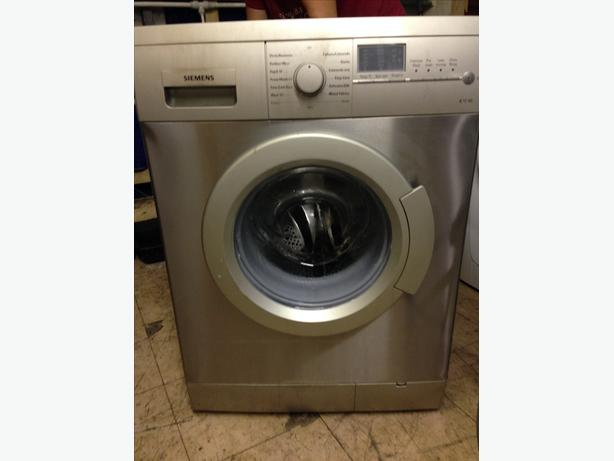 SIEMENS STAINLESS STEEL WASHING MACHINE -6KG /1200 SPIN WITH GUARANTEE