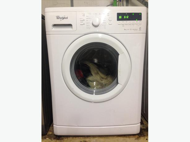 WHIRLPOOL 9 KG WASHING MACHINE WITH GUARANTEE