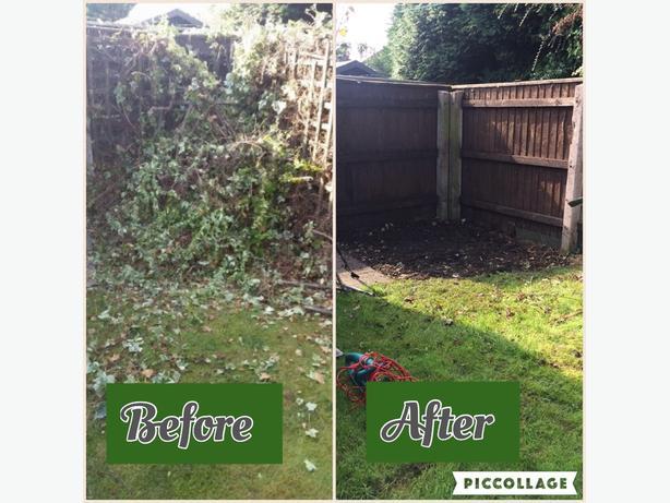 garden work & rubbish removal