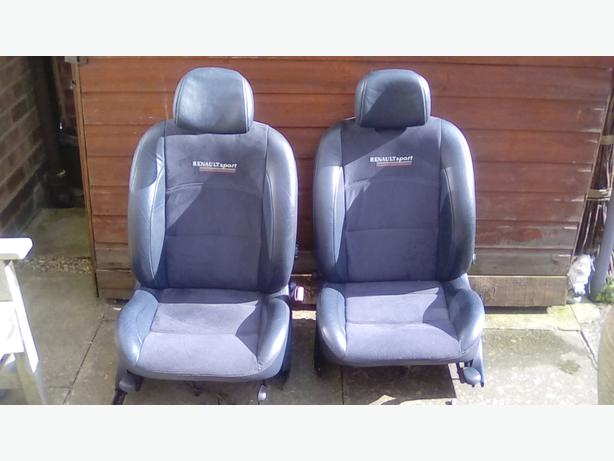 Renault Sport Front Car Seats Fits Clio