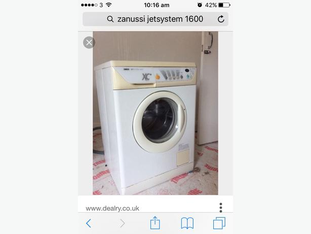 Zanussi JetSystem 1600 Washing Machine