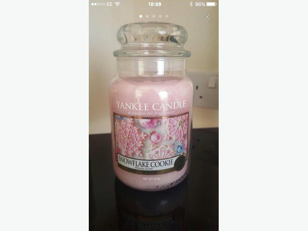 yankee candles large new
