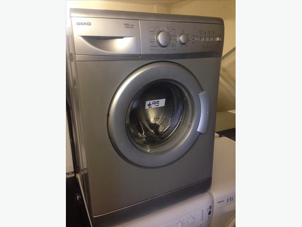 IMMACULATE SILVER BEKO 6KG WASHING MACHINE
