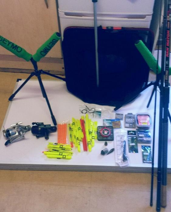 Fishing tackle for sale tipton walsall for Fishing equipment for sale
