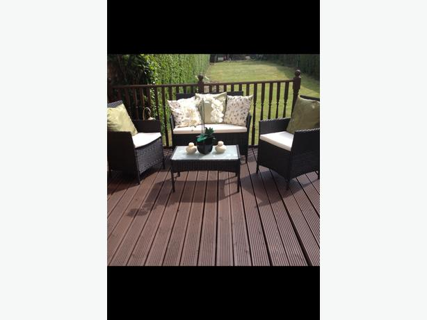 Brand new rattan furniture