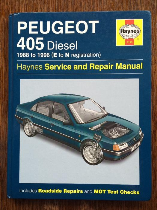 haynes manual peugeot 405 other black country location dudley