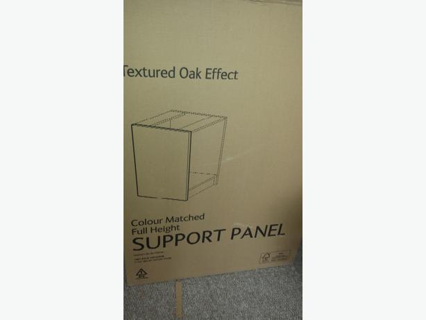 b&q textured oak effect surport panel