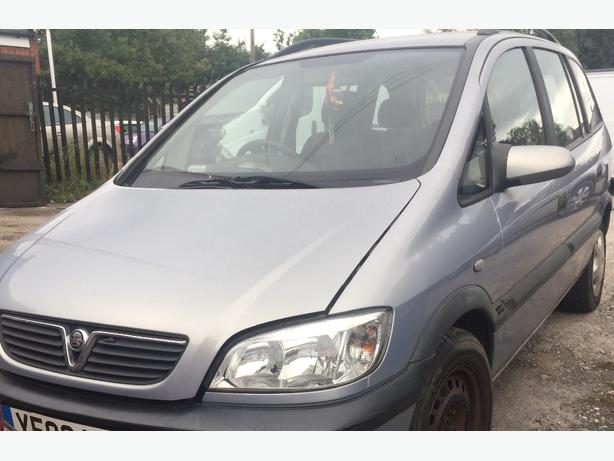 VAUXHALL ZAFIRA A 7 SEAT MPV Z151 MIRAGE SILVER 1999-2005 BREAKING ALL PARTS