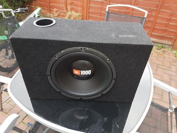 JBL 1200 Watt Sub