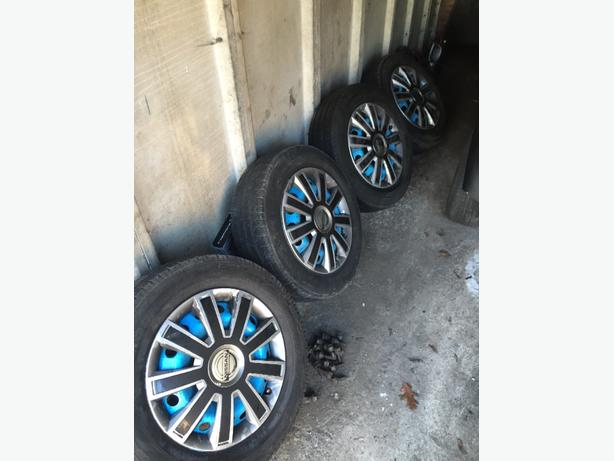 vivaro steel wheels with tyers