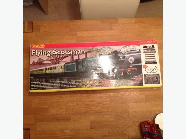 Hornby flying Scotsman train