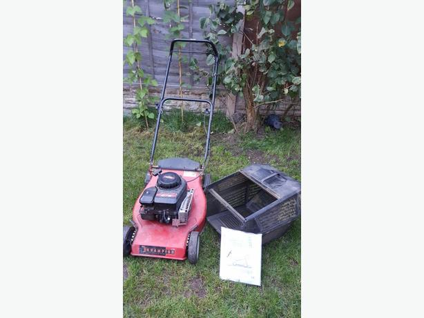 Petrol Champion Lawnmower