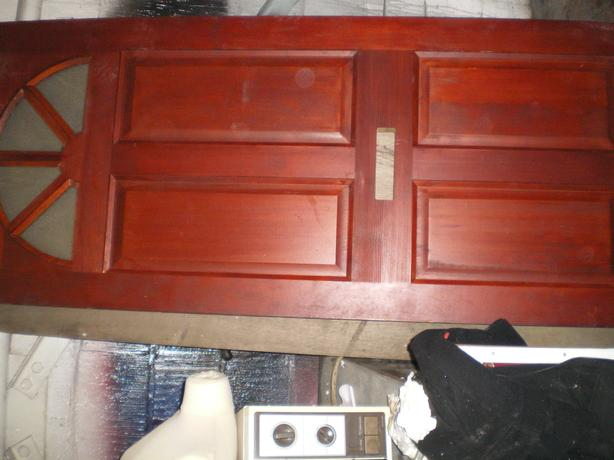 NEW FRONT  DOOR   see notes