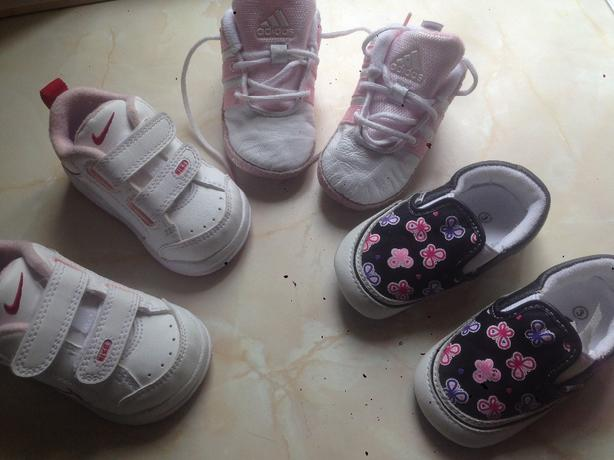 3xpairs baby trainers