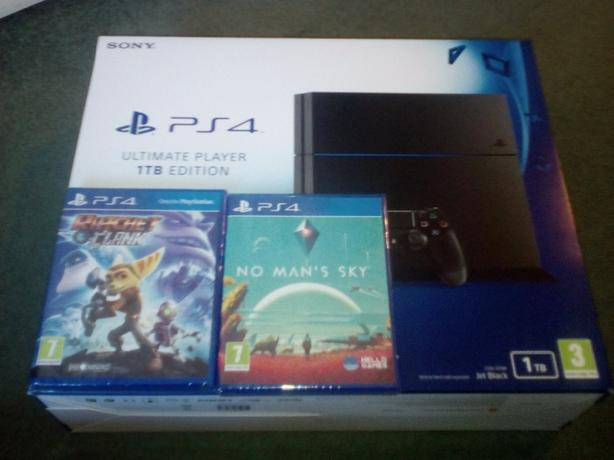 Ps4 1TB Brand New Fully Sealed