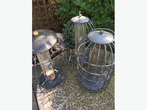 Bird Feeders (Large Metal)