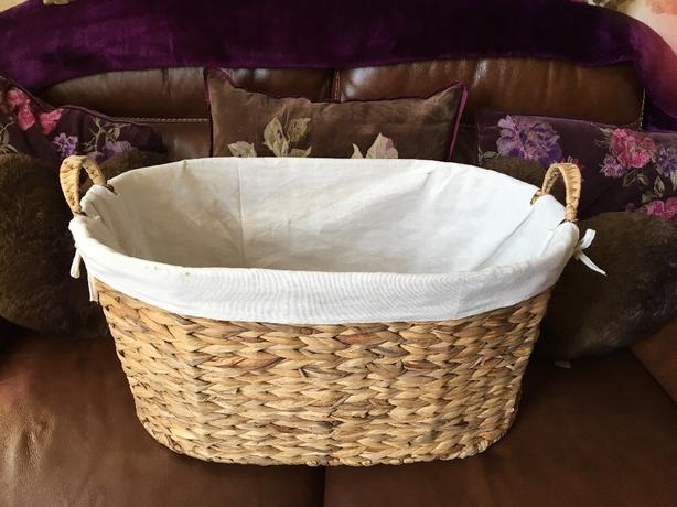 brand new large wicker basket