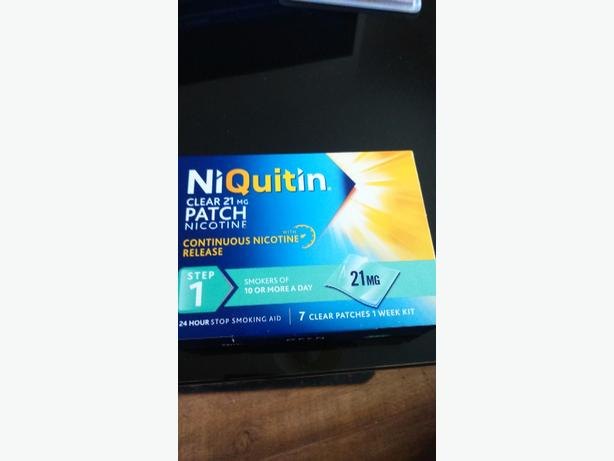 NIQUITIN 21mg PATCHES