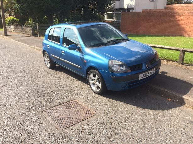 reno clio no problem start end drive