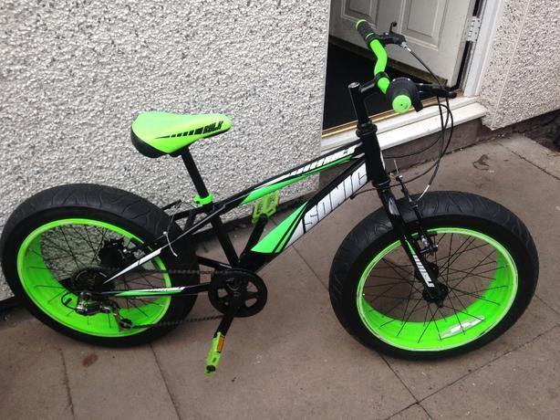 fat tyre mountain bike