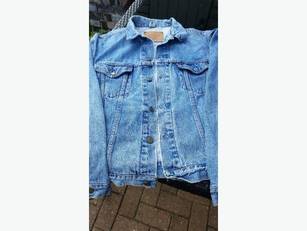 Original Levis Demin Jacket.large