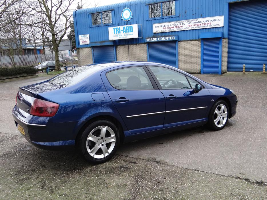 full service history 2006 peugeot 407 se 2 0 hdi willenhall dudley. Black Bedroom Furniture Sets. Home Design Ideas