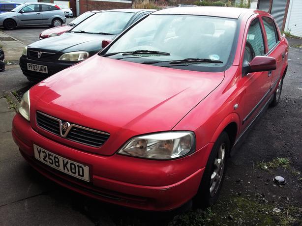 Vauxhall Astra 1.6 16v mk4