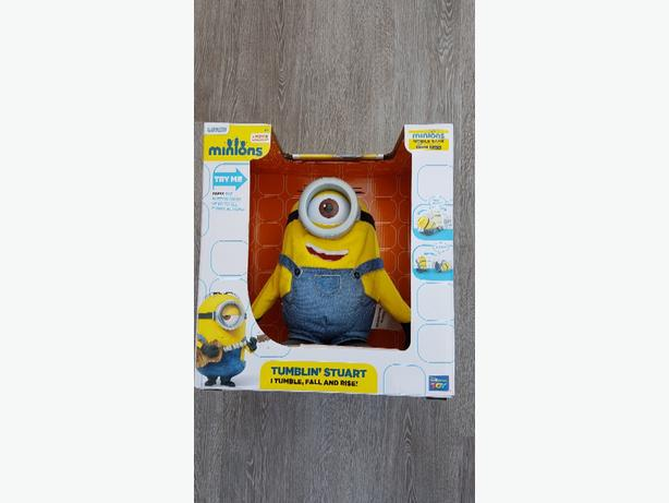 NEW In Box Tumbling Stuart Minion