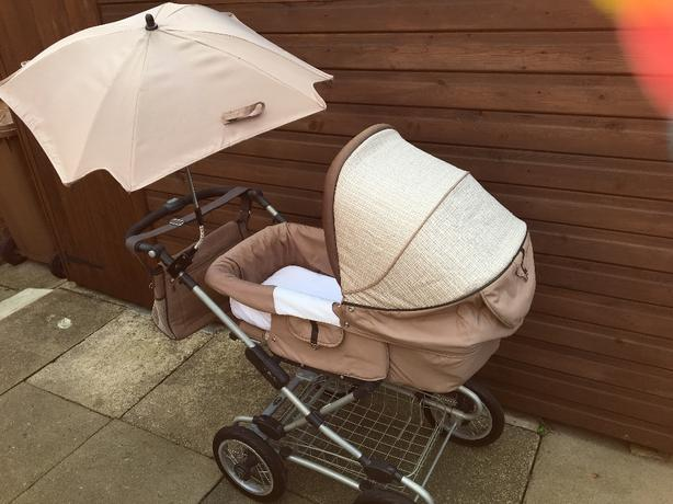 silvercross pram pushchair