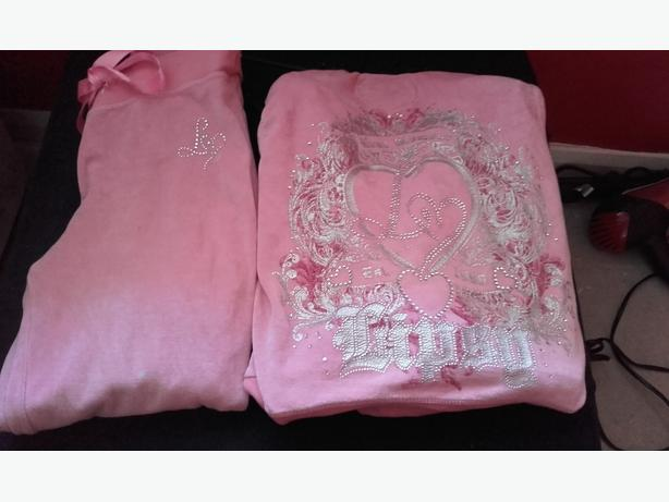 genuine pink  lipsy tracksuit