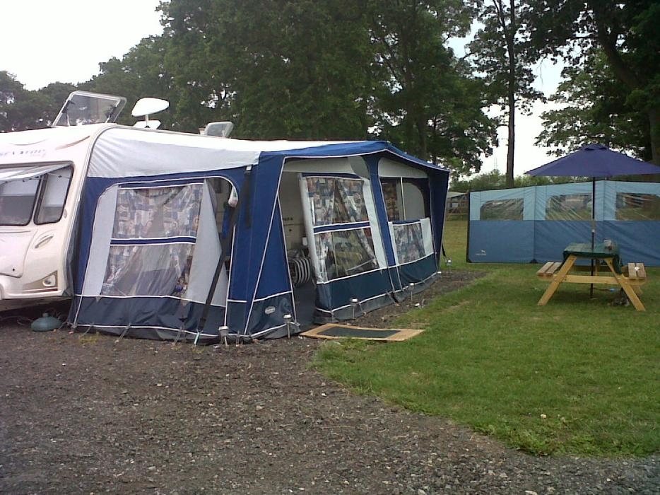 Caravan Awning - Pyramid Corsican 1000 DUDLEY, Dudley