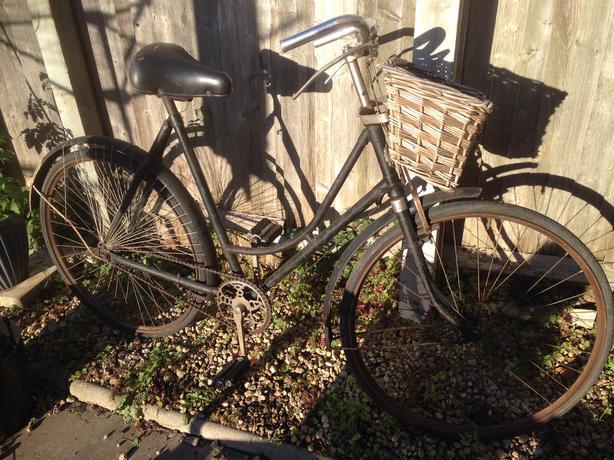 2 Old 1920s BSA bikes