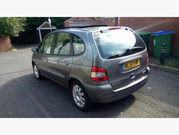 RENAULT MEGAN SCENIC 2002 REG 1.6CC MANUAL