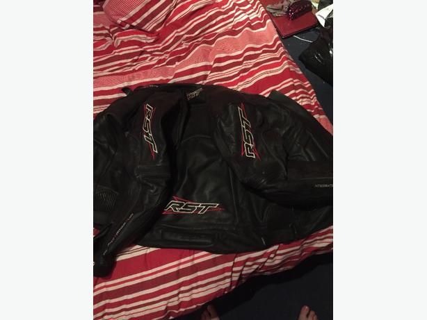 Full Leather RST Bike Jacket