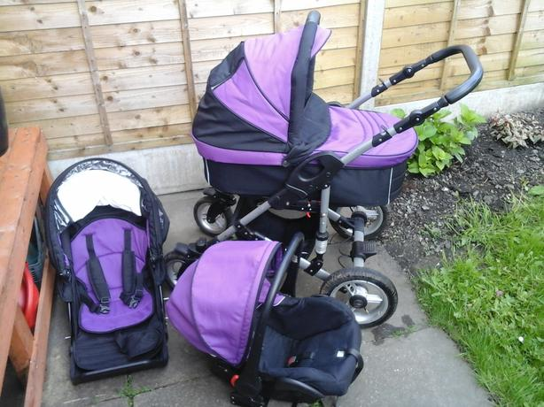 X-TRALL  Travel  System  3-1