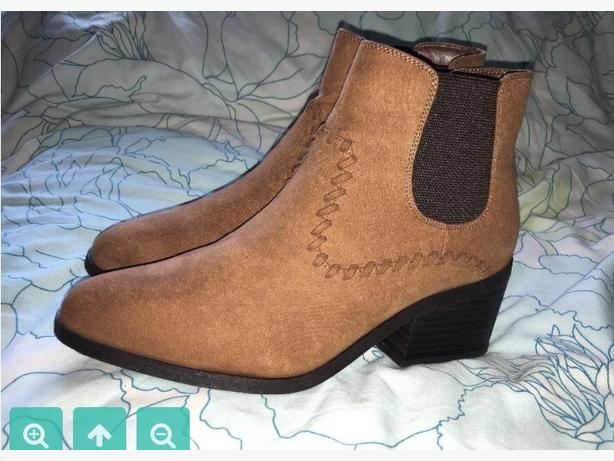 2x size 6 new look boots