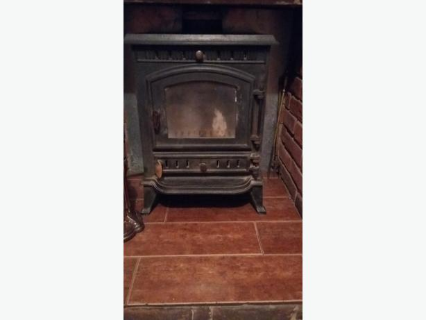Multi fuel Wood Burner Cast Iron