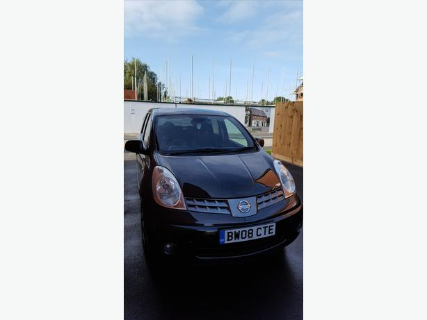 for sale nissan note .  tekna.1.6    16v