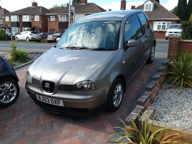 2003 seat arosa 1 0 s dudley dudley. Black Bedroom Furniture Sets. Home Design Ideas