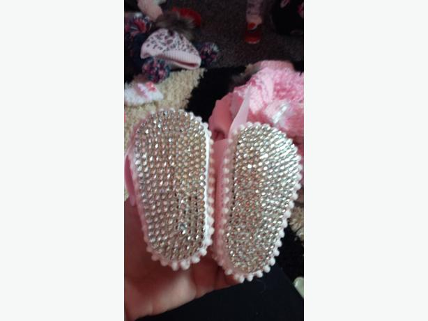 1st size bling shoes