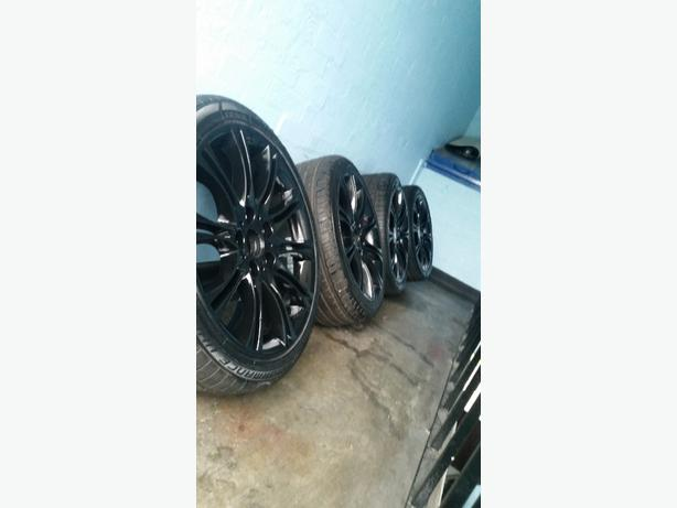 "bmw 18"" staggered mv2 alloys"