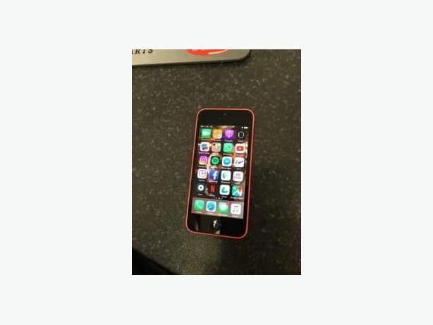 iPhone 5C Pink/Coral