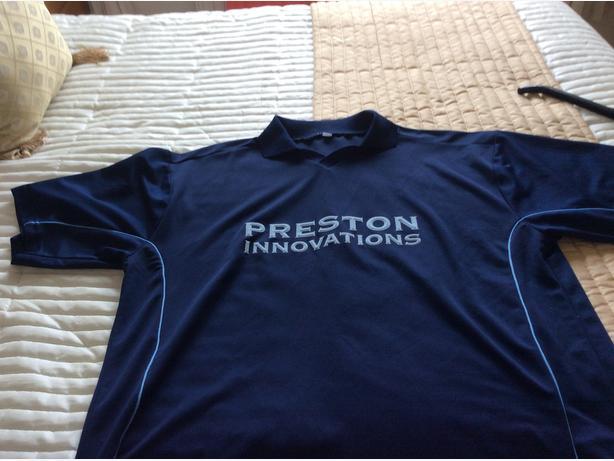 2  x PRESTON  T SHIRTS