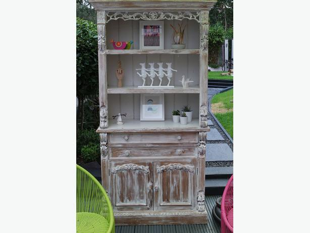Superb Bookcase cabinet - Carved - Nordic Old & New Style Sutton Coldfield