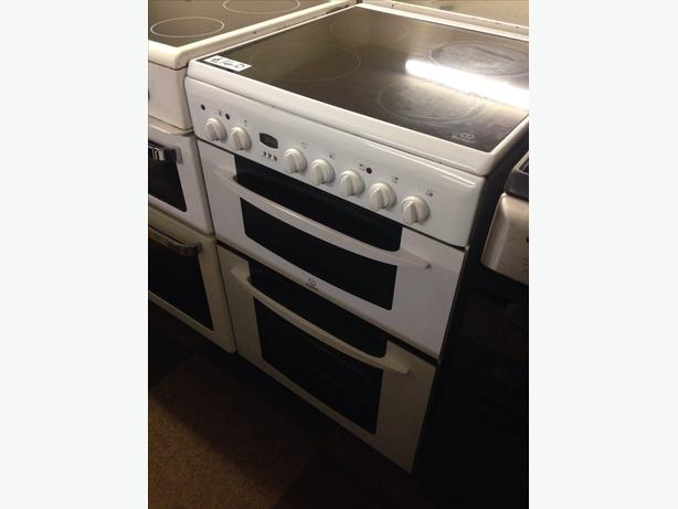 INDESIT DOUBLE OVEN ELECTRIC COOKER022