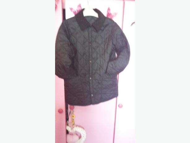 Black boys barbour coat