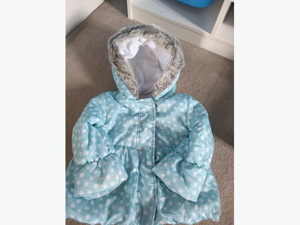 girls bhs coat 9-12 months