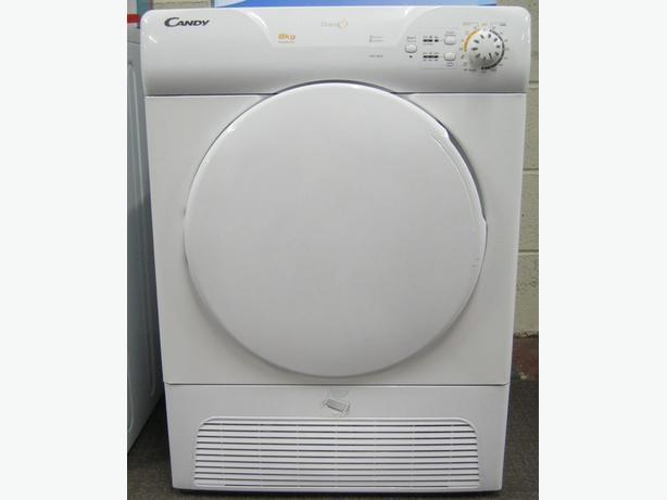Candy 8kg Condenser Tumble Dryer, 6 Month Warranty